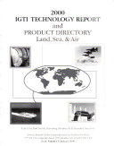 Technology Report and Product Directory, Land, Sea & Air