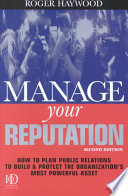 Manage Your Reputation Book PDF