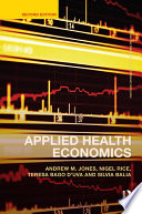 Applied Health Economics PDF