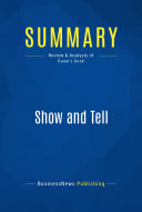 Summary  Show and Tell