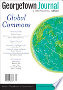 Georgetown Journal of International Affairs Book