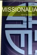 Missionalia