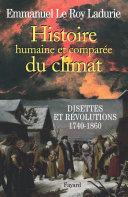 Pdf Histoire humaine et comparée du climat Telecharger
