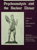 Pdf Psychoanalysis and the Nuclear Threat Telecharger