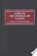 Guide to the Cinema(s) of Canada