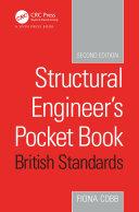 Structural Engineer s Pocket Book British Standards Edition