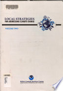 Local Strategies for Addressing Climate Change  Guide helping coastal managers communicate about climate change