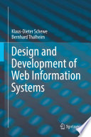 Design and Development of Web Information Systems Book