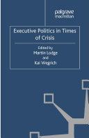 Executive Politics in Times of Crisis Pdf/ePub eBook