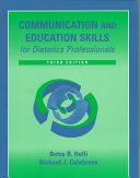 Communication and Education Skills for Dietetics Professionals Book PDF