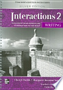 Interactions 2 Writing Teachers Edition with Tests(Silver Edition)