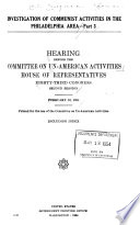 Investigation of Communist Activities in the State of California Book