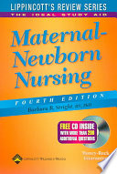 Maternal Newborn Nursing Book