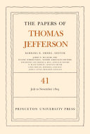 The Papers of Thomas Jefferson, Volume 41