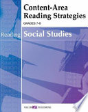 Content-Area Reading Strategies for Social Studies