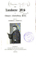 Pdf The Landowne Ms of Chaucer's Canterbury Tales