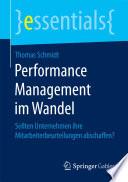 Performance Management im Wandel