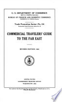 Commercial Travelers  Guide to the Far East