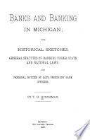 Banks and Banking in Michigan