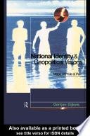 National Identity and Geopolitical Visions Book