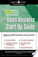 The Small Business Start Up Guide