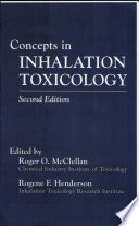 Concepts In Inhalation Toxicology Book
