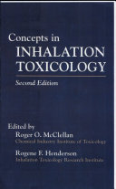 Concepts In Inhalation Toxicology