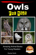Owls For Kids   Amazing Animal Books For Young Readers