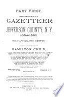Geographical Gazetteer of Jefferson County  N  Y  1684 1890