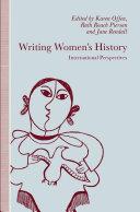 Writing Women   s History