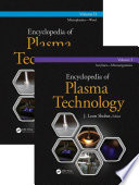 Encyclopedia Of Plasma Technology   Two Volume Set