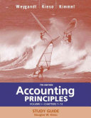 Accounting Principles  with PepsiCo Annual Report  Study Guide  Volume I  Chapters 1 13