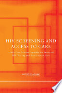 HIV Screening and Access to Care Book