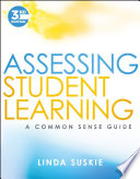 link to Assessing student learning : a common sense guide in the TCC library catalog