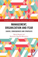 Management  Organization and Fear
