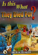 Is this What They Died For? Pdf/ePub eBook