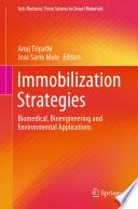 Immobilization Strategies