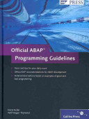 Official ABAP Programming Guidelines