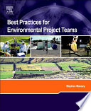 Book Cover: Best Practices for Environmental Project Teams
