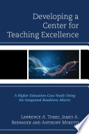 Developing a Center for Teaching Excellence