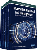 Information Retrieval and Management  Concepts  Methodologies  Tools  and Applications
