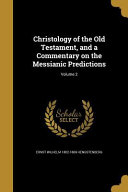 Christology Of The Ot A Comm