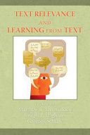 Text Relevance and Learning from Text Pdf/ePub eBook
