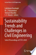 Sustainability Trends and Challenges in Civil Engineering Book