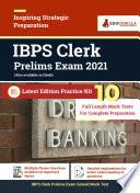 IBPS Clerk Prelims 2021 | 10 Mock Test For Complete Preparation