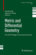 Metric and Differential Geometry Book