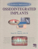 Orthodontic Applications Of Osseointegrated Implants