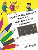 My First Big Book Of Tracing Numbers And Letters