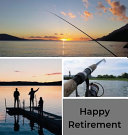 Fishing Retirement Guest Book Hardcover  Book PDF