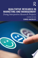 Qualitative Research in Marketing and Management